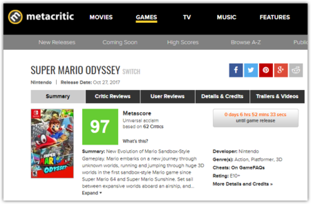 Super Mario Odyssey For Switch Reviews Metacritic Google Chrome 2017 10 26 17 07 27