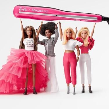 L'Oréal y Barbie se unen para lanzar una edición limitada de la plancha de pelo con vapor de lo más molona que ya está disponible en Amazon