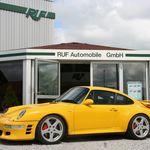 RUF TurboR: un Porsche 911 (993) de escándalo, ahora con más potencia y traje de fibra de carbono