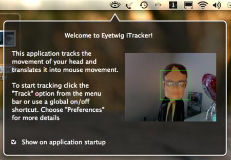 iTracker, controla el cursor con movimientos de tu cabeza