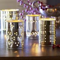 Adornos navideños sostenibles