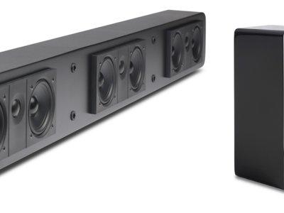 Los nuevos altavoces de Atlantic Technology mejoran el sonido de la tele usando tu receptor A/V