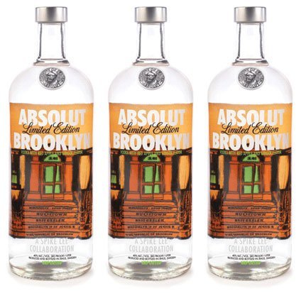 ABSOLUT Brooklyn diseñado por Spike Lee