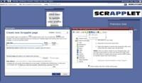 Scrapplet, creación de sitios web de forma sencilla con red social