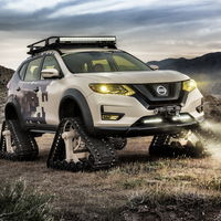 La última locura sobre orugas de Nissan se llama Rogue Trail Warrior Project