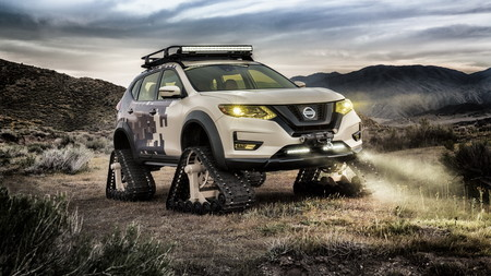 La última locura sobre orugas de Nissan se llama Rogue Trail Warrior Project