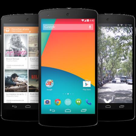 Nexus 5 comienza a recibir hoy Android 4.4.1 [Actualiza manualmente]