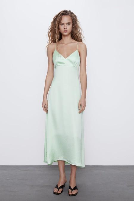 Vestido Colores Pastel Zara