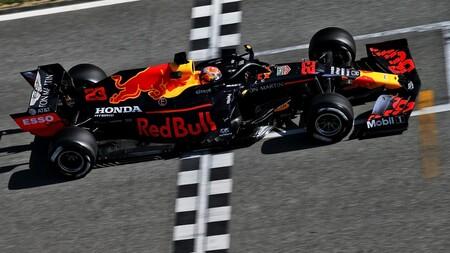 Albon Red Bull F1 2020