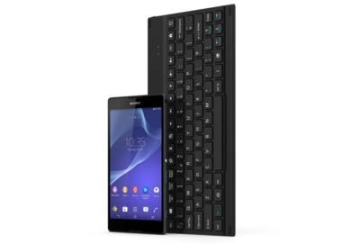 El teclado Sony BKB10 se presenta con un par de fundas para dispositivos Xperia