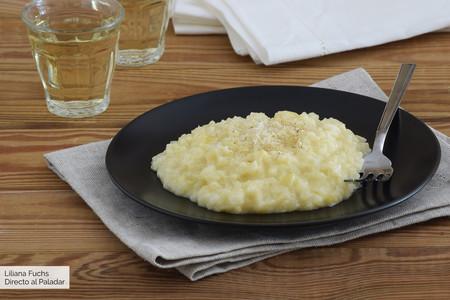 Risotto meloso de puerro, pera y azafrán: receta con y sin Magimix Cook Expert