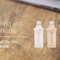 Transcend amplía el espacio de dispositivos iOS con memoria JetDrive Go 500 de doble conector