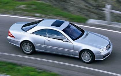 Mercedes CL 500 a la parrilla, muy hecho