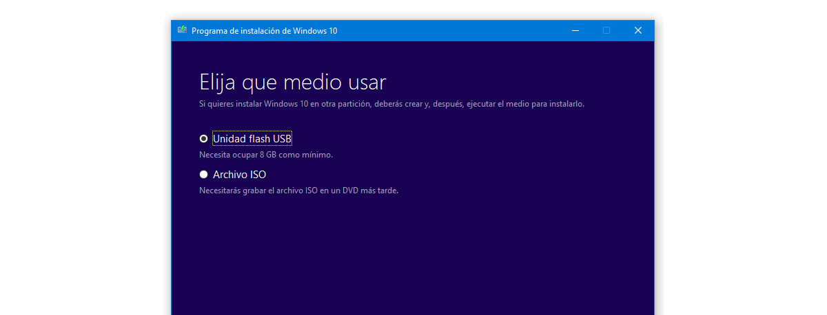 Windows 10 disc usb