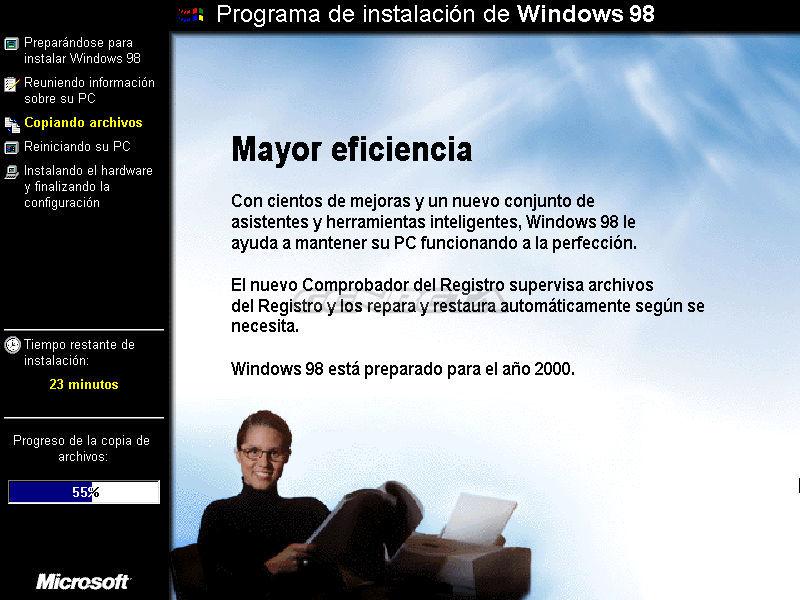 Foto de Programa de instalación de Windows 98 (5/10)