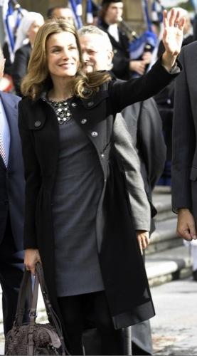 La Princesa Letizia en los Premios Príncipes de Asturias II