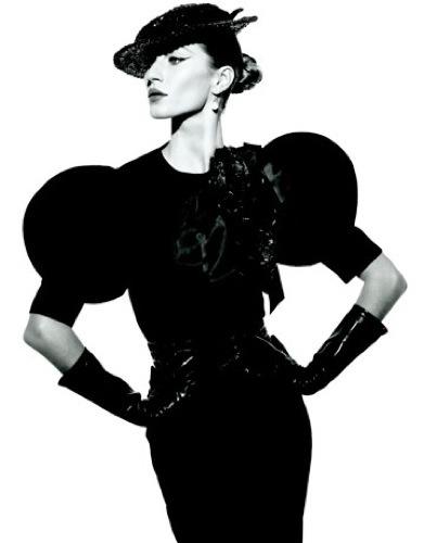 Gisele Bundchen estilo 50s en Harper