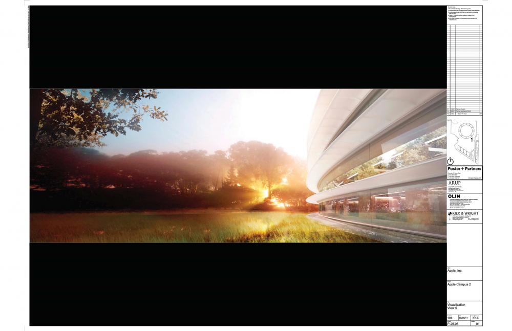 Foto de Proyecto original del nuevo campus de Apple (16/27)