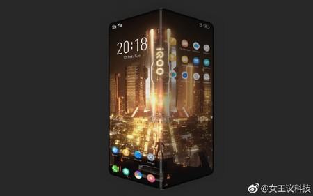 Unas imágenes filtradas sugieren que IQOO, la nueva marca de Vivo, se estrenará con un smartphone flexible