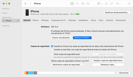 Macos Big Sur Finder Sync Iphone Restore Iphone Onclick