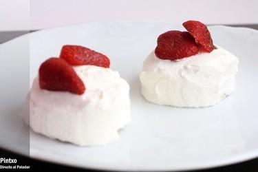 Mini tartas de fresas con nata. Receta
