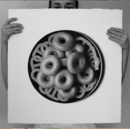 50 alimentos en 50 días: dibujos de comida hiperrealistas