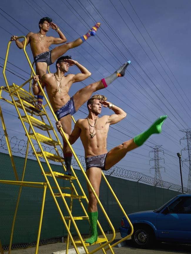 Foto de Happy Socks campaña con David LaChapelle (7/9)