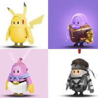 Las mejores skins de Fall Guys creadas por fans: Dragon Ball, Metal Gear Solid y hasta Brawl Stars