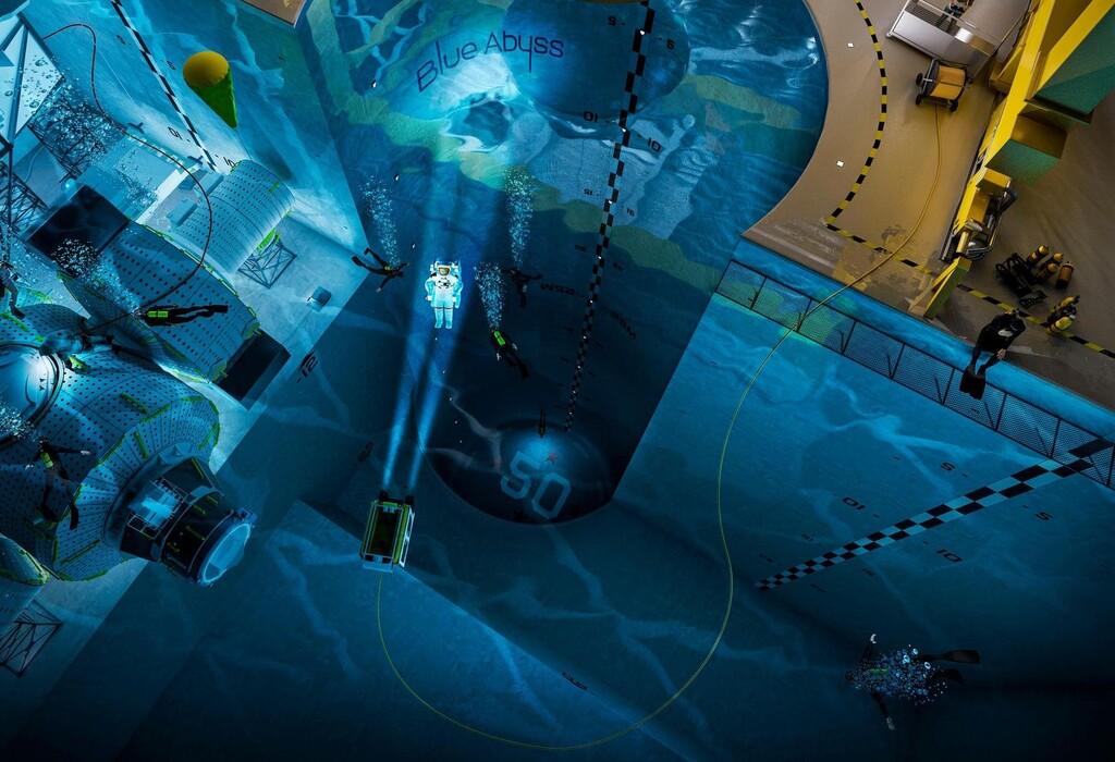 Un abismo de 50 metros y 43.000 metros cúbicos de agua: la piscina más profunda del mundo será para buceo extremo y simulación de vuelos espaciales