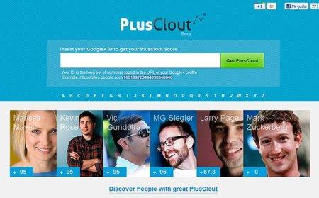 PlusClout, nuevo servicio que mide la influencia de los usuarios de Google+