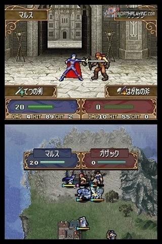 Foto de Más y web oficial de Fire Emblem DS (4/11)