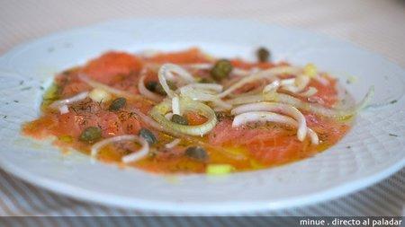 Restaurante Xiri - salmón