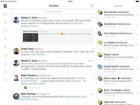 Tweetbot para iOS se actualiza a su cuarta gran versión... ¡y también en el iPad!