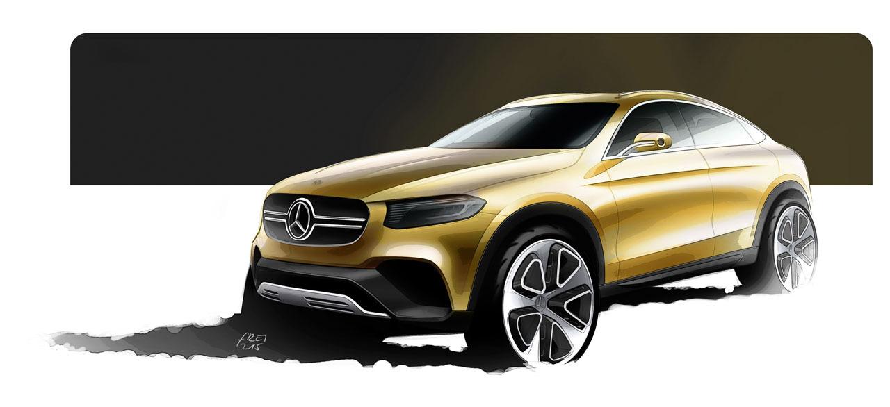 Foto de Mercedes-Benz Concept GLC Coupé (1/14)
