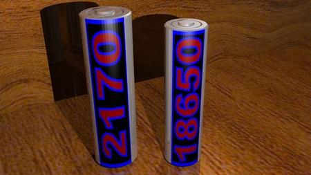 Batteries 2170 18650