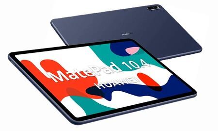 La alternativa a regalar un iPad estas navidades puede ser la Huawei MatePad 10.4 y El Corte Inglés te la deja más barata que nadie, por 189 euros