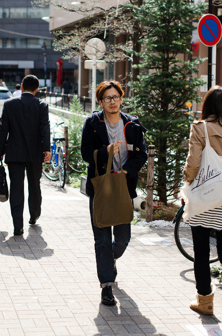 Shopping bag street Style