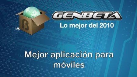 Lo mejor del 2010: mejor aplicación para móviles