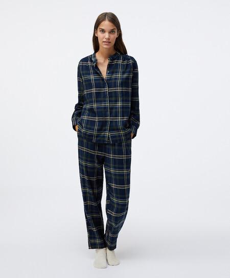 Pijama Tartan Navidad Oysho 00005