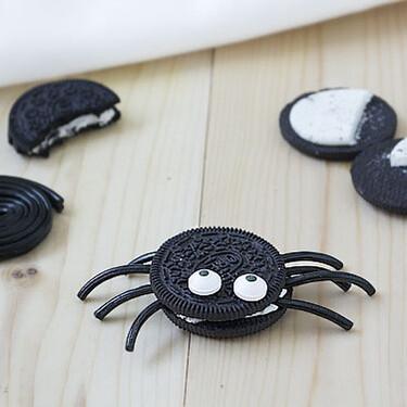 Arañas de Oreo, receta fácil y rápida para Halloween