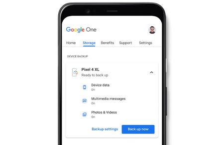 Google One lanza gratis la copia de seguridad mejorada de Android y su administrador de almacenamiento