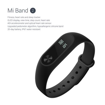Oferta Flash: Xiaomi Mi Band 2 por 17,79 euros y envío gratis