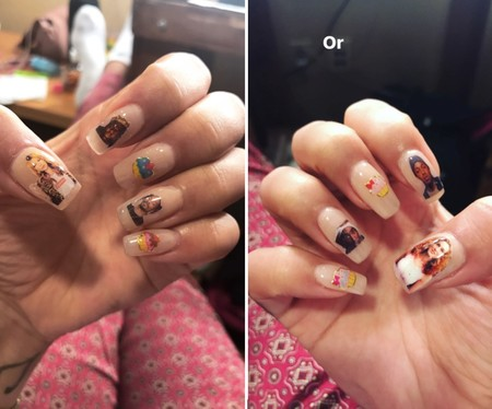 Nail Art Rita Ora Teen Choice