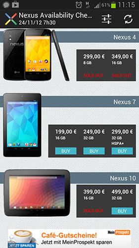 Nexus Availability Checker