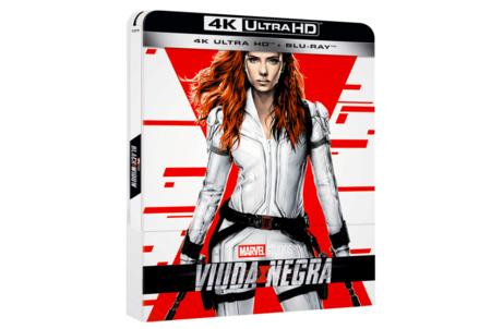Viuda Negra Steelbook 4k Uhd Blu Ray Blu Ray
