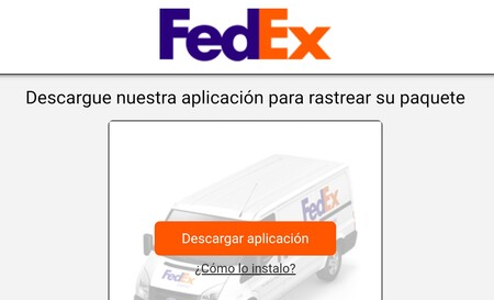 Fedex SMS scam
