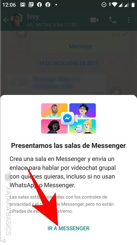 Ir A Messenger