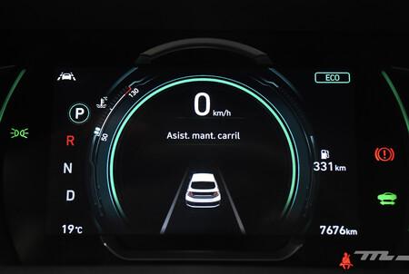 Hyundai Ioniq 2021 Hibrido Mexico Opiniones Prueba 20