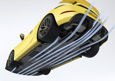 Porsche 718 Cayman GT4 aerodinámica