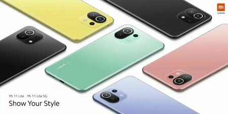 Xiaomi Mi 11 Lite 4g 5g Oficial Diseno Colores